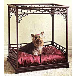 sc 1 st  CallingAllDogs.com & Asian Inspired Canopy Dog Bed