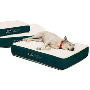 orthopedic dog mattress with dual density foam