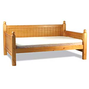 large wood dog bed - Hampton daybed for large dogs