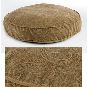 Bowsers round dog beds - paisley dog bed