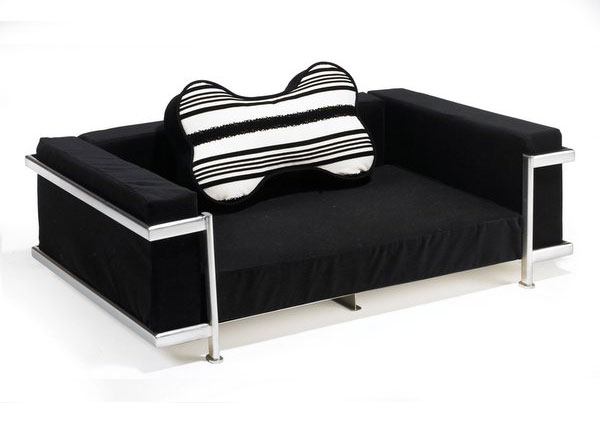 Clean Modern Design Defines This Elegant Dog Bed And Sofa