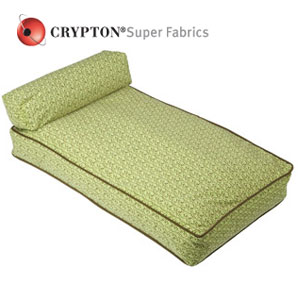 William Wegman dog bed in Crypton fabric