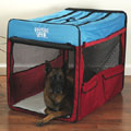 XL big dog crate: soft travel dog crate