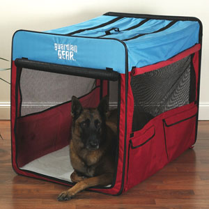 Collapsible soft dog crate xl for Xl dog travel crate