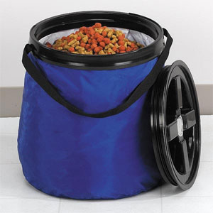 Airtight Soft Sided 50 Lb Dog Food Storage Solution