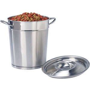 Stainless Steel Dog Food Storage