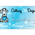 dog gift certificate - $25