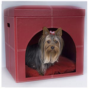 dog house - bed + ottoman