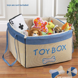 Folding Dog Toy Box