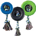 dog tire + rope toys
