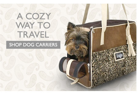A Cozy Way to Travel - Shop Dog Carriers