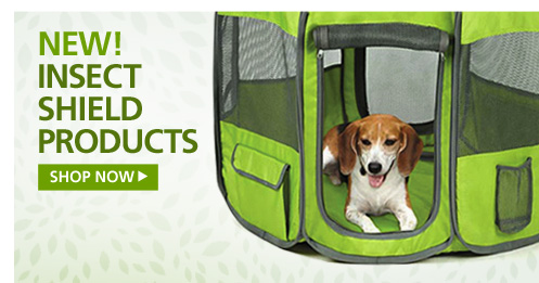 NEW! Insect Shield Products—Shop Now