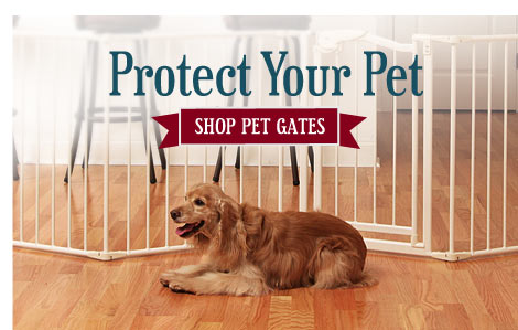 Protect Your Pet - Shop Pet Gates
