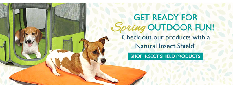 Get Ready for Spring Outdoor Fun! Check out our products with a Natural Insect Shield! Shop Insect Shield Products—Click Here