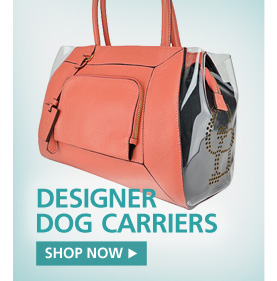 Designer Dog Carriers. Shop Now.