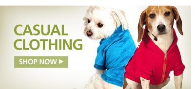 Dog Casual Clothing. Shop Now.