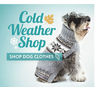 Cold Weather Shop. Shop Dog Clothes.