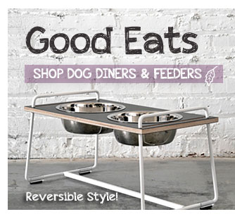 Good Eats. Shop Dog Diners & Feeders.