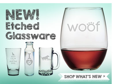 New! Etched Glassware. Shop What's New.