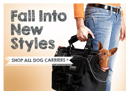 Fall into new styles! Shop all dog carriers.