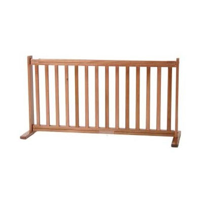 20 Inch Tall All Wood Large Freestanding Gate Up To 6ft Wide