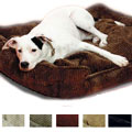 lounge bed - corduroy dog bed